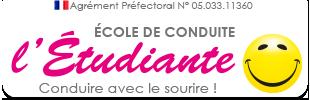 Ecole de conduite l'Etudiante Logo